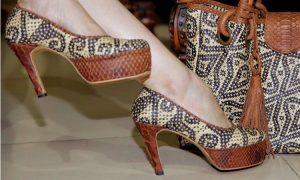 sandal dari rotan modern cantik