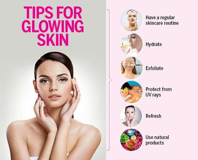 cara kulit glowing sehat alami
